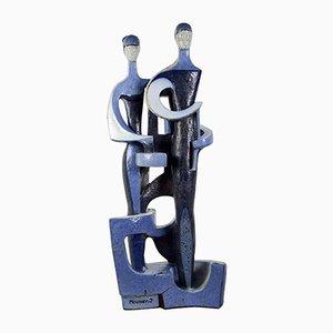 Sculpture en Céramique par Meunier, France, 1970s