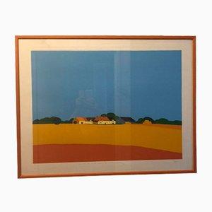 Lithographie von Pierre Scholla, 1980er
