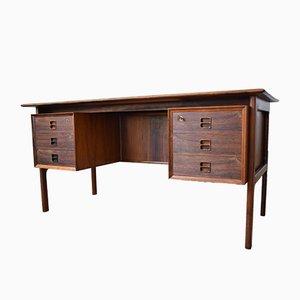 Chef-Schreibtisch in brasilianischem Palisander Furniervon Arne Vodder für Sibast Møbler, 1960er