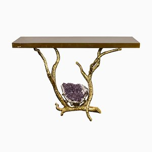 Console Table by Jacques Duval Brasseur, 1980s