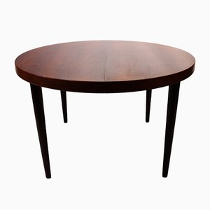 Extendable Rosewood Dining Table from Omann Jun, 1960s