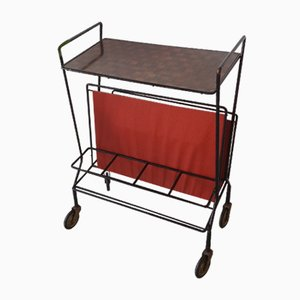 Mid-Century Serving Cart