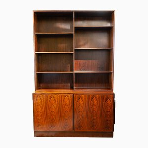 Rosewood Shelving Unit & Storage Cabinet from Omann Jun, 1960s