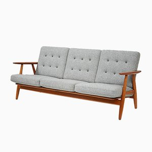 GE-240 Cigar Sofa by Hans J. Wegner for Getama, 1955