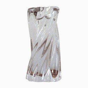Portacandela in cristallo di Baccarat, anni '70