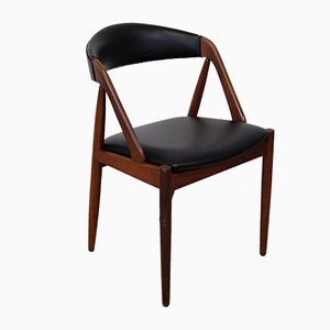 Model 31 Teak Side Chair by Kai Kristiansen for Schou Andersen, 1950s