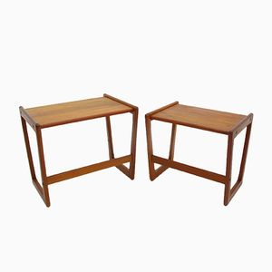 Kubus Nesting Tables by Georg Jensen, 1970s, Set of 2