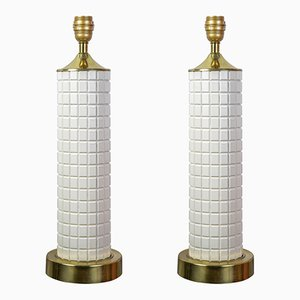 Danish Table Lamps, 1960s, Set of 2