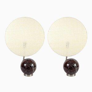 Lampes de Bureau Modernistes Vintage, Set de 2