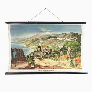 Poster di un paesaggio siciliano, Germania, 1941