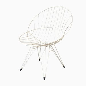 Vintage Combex Wire Chair by Cees Braakman for Pastoe