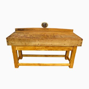 Table Bloc de Boucher Antique