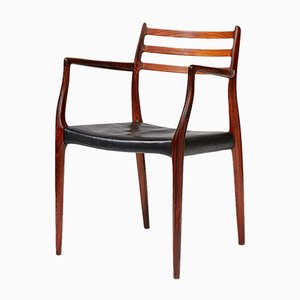 Model 62 Rosewood Chair by N. O. Møller for J.L. Møllers, 1962