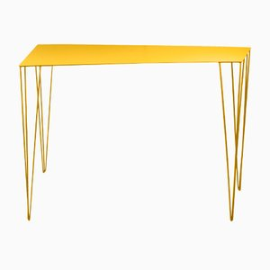 Chele Console Table in Yellow by Antonino Sciortino for Atipico