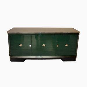 Credenza Art Deco verde, anni '20
