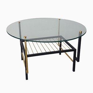 Mesa de centro redonda, años 60