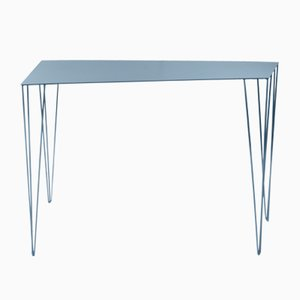 Table Console Chele Medium Bleu par Antonino Sciortino pour Atipico