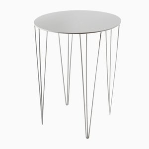 Chele Bistro Table in White by Antonino Sciortino for Atipico