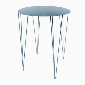 Mesa de bistrot Chele en azul medio de Antonino Sciortino para Atipico