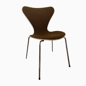 Sedia nr. 3107 vintage di Arne Jacobsen per Fritz Hansen