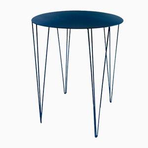 Mesa de bistrot Chele en azul de Antonino Sciortino para Atipico