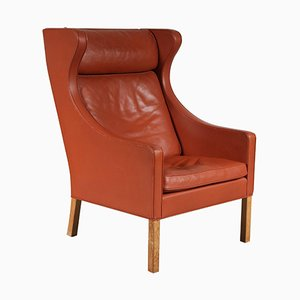 Mid-Century Danish Wingback Chair by Børge Mogensen for Fredericia, 1960s
