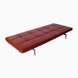 Sofá cama modelo PK 80 de Poul Kjærholm para E. Kold Christensen, años 60