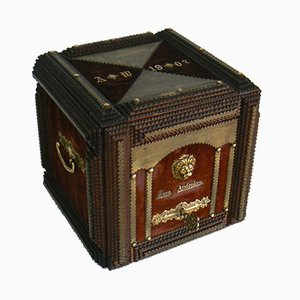 Antique German Memory Casket, 1907