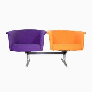 620 Island Sitzsystem mit 2 Sitzen von Geoffrey Harcourt für Artifort, 1970er
