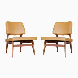 Mid-Century No. 681 Chairs by Günther Eberle for Thonet, 1950s, Set of 2