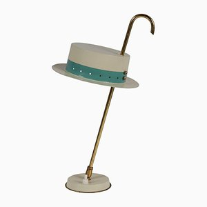 Lámpara de mesa italiana Mid-Century, años 50