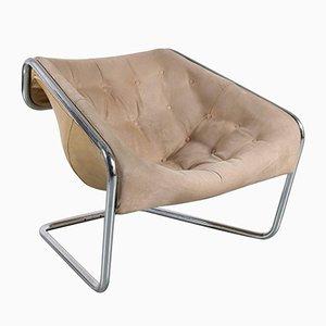 """Chaise """"Boxer""""Vintage par Kwok Hoi Chan pour Steiner, France, 1971"""