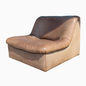 DS-46 Lounge Chair in Buffalo Leather from de Sede, 1970s