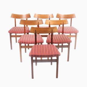 Chaises de Salle à Manger en Palissandre , 1960s, Set de 6