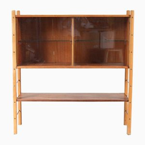 Birch & Walnut Cabinet by William Watting, 1950s