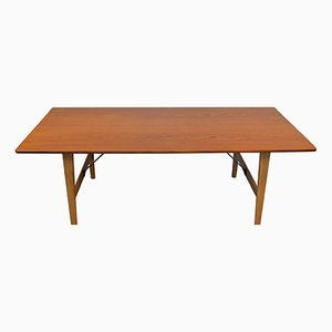 Low Mid-Century Model 281 Dining Table by Børge Mogensen for Fredericia