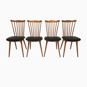 Model 741 Menuet Chairs from Baumann, 1960s, Set of 4