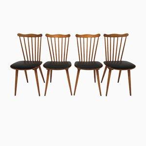 Modell 741 Menuet Stühle von Baumann, 1960er, 4er Set