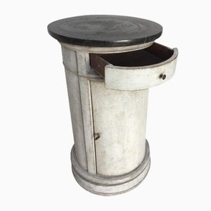 Comodino antico, metà XIX secolo