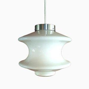 Model Meerpaal Opaline Pendant Lamp from Raak, 1972