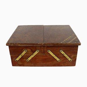 Caja de costura vintage