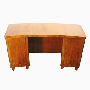 Swedish Elm Desk, 1940s