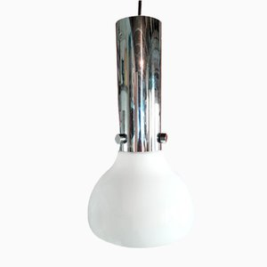 Opaline Pendant Lamp from Limburg, 1960s