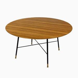 Table Basse Circulaire par Ico Parisi pour Cassina, 1950s