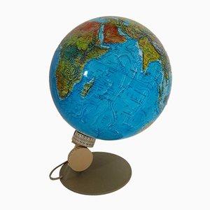 Beleuchteter dänischer Globus von Scan Globe, 1976