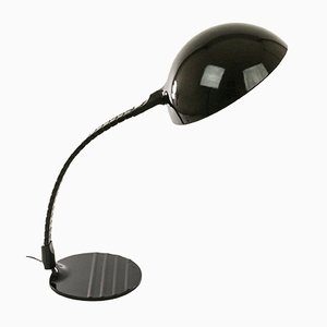 Black Model 660 Table Lamp by Elio Martinelli for Martinelli Luce, 1970s