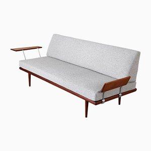 Sofá cama danés de Peter Hvidt & Orla Molgaard-Nielsen para France & Søn, años 60