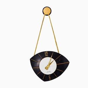 Bakelite Wall Clock from Jantar, 1960s