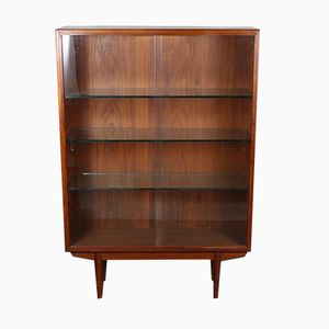 Danish Teak Bookcase by Børge Mogensen for Søborg, 1960s