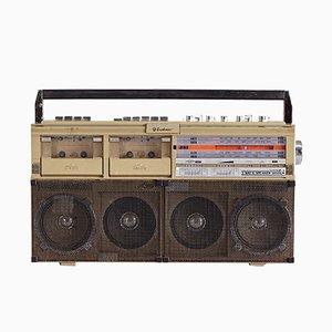 Radiocasetera GP-1 Stereo de Zualimax, años 80